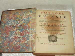 Antiquarisch Buch 1735 Pierre BERGERON Voyages faits principalement en Asie - Erkrath, Deutschland - Antiquarisch Buch 1735 Pierre BERGERON Voyages faits principalement en Asie - Erkrath, Deutschland