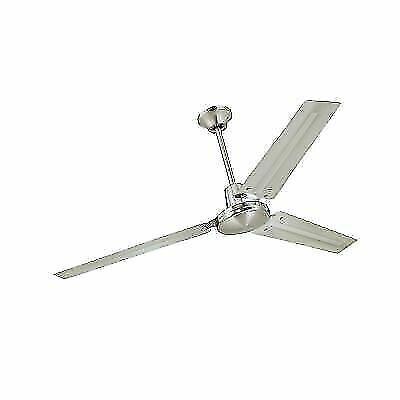 Westinghouse 7861400 Industrial 56 Inch Three Blade Indoor Ceiling Fan Nickel For Sale Online Ebay