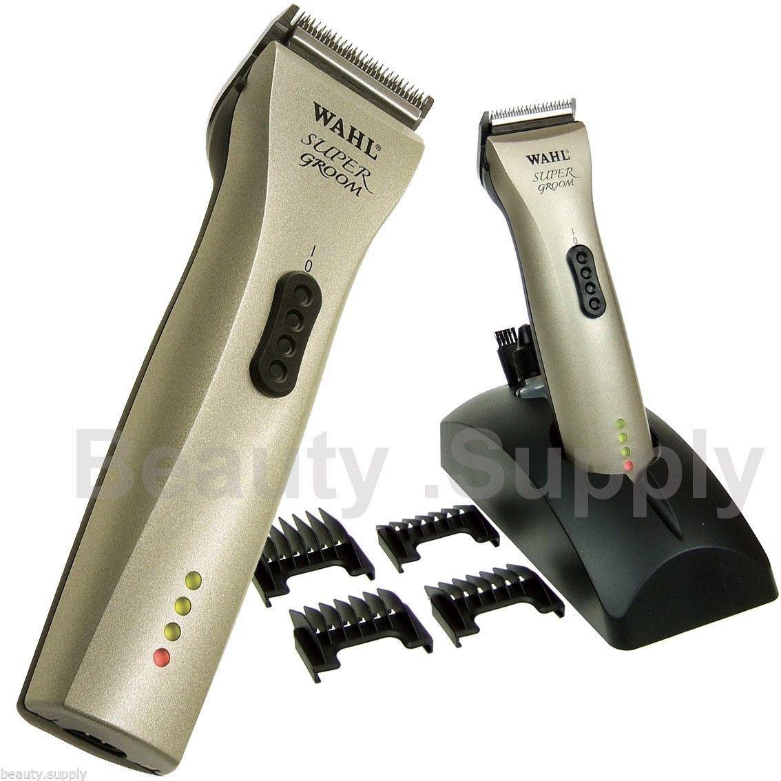 Wahl Super Groom Animal Hair Grooming Clipper 1872-0275Pet Dog Horse
