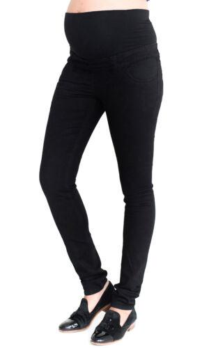 Maternity New Look Over Bump Jeggings Skinny Black Pregnancy Jeans Sizes 8-20