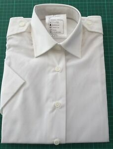Collectibles British Army Uniform Short Long Sleeve Mans Shirt White Rn Royal Navy Genuine