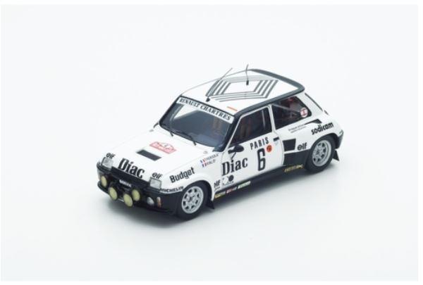 Renault 5 Turbo - Jean-L. Therier  M. Vial - 4th Monte-voiturelo 1984  6 - Spark  bonne qualité