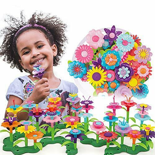 Style-Carry Build A Garden Flower Toys Toy For 3 4 5 6 Years Old Girls Kids