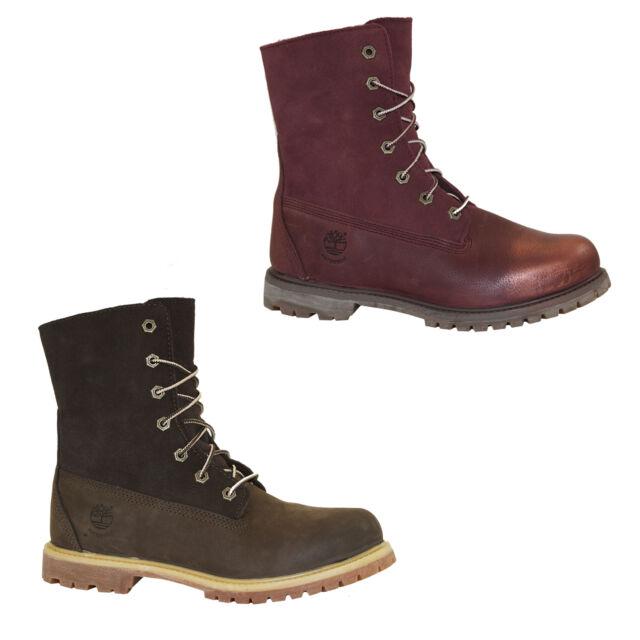 Timberland ek Authentics TEDDY Boots Waterproof Winter Botines cálido