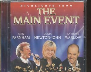 THE-MAIN-EVENT-JOHN-FARNHAM-OLIVIA-NEWTON-JOHN-ANTHONY-WARLOW-CD