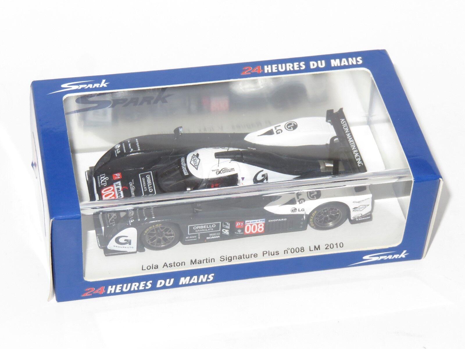 1 43 Lola BO9 60 Aston Martin Martin Martin firma Plus Le Mans 24 HRS 2010  008 f1e90b