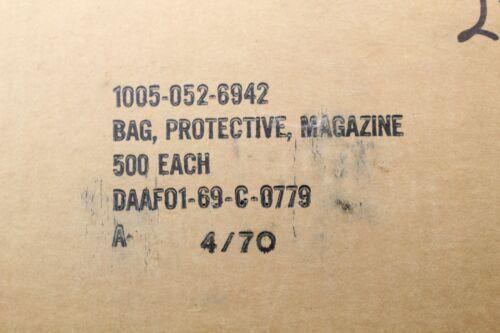 US VIETNAM WAR CHIEU HOI PROPAGANDA CASE 500 PROTECTIVE MAGAZINE BAG POUCH