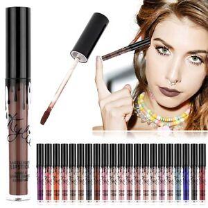 Liquide Lip Gloss Rouge À Lèvres Maquillage Waterproof Longue Tenue Matte Crayon