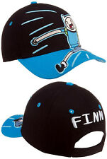 524d52ebfc6 Adventure Time Finn   Jake Youth Size Baseball Cap Hat Boy Blue Black  Adjustable