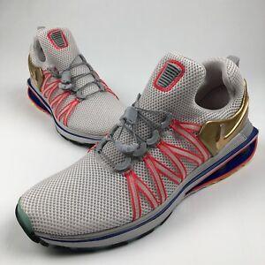 b7fa53ec3c4 Nike Shox Gravity Metallic Gold Size 11 Vast Grey AQ8553-009 Mens