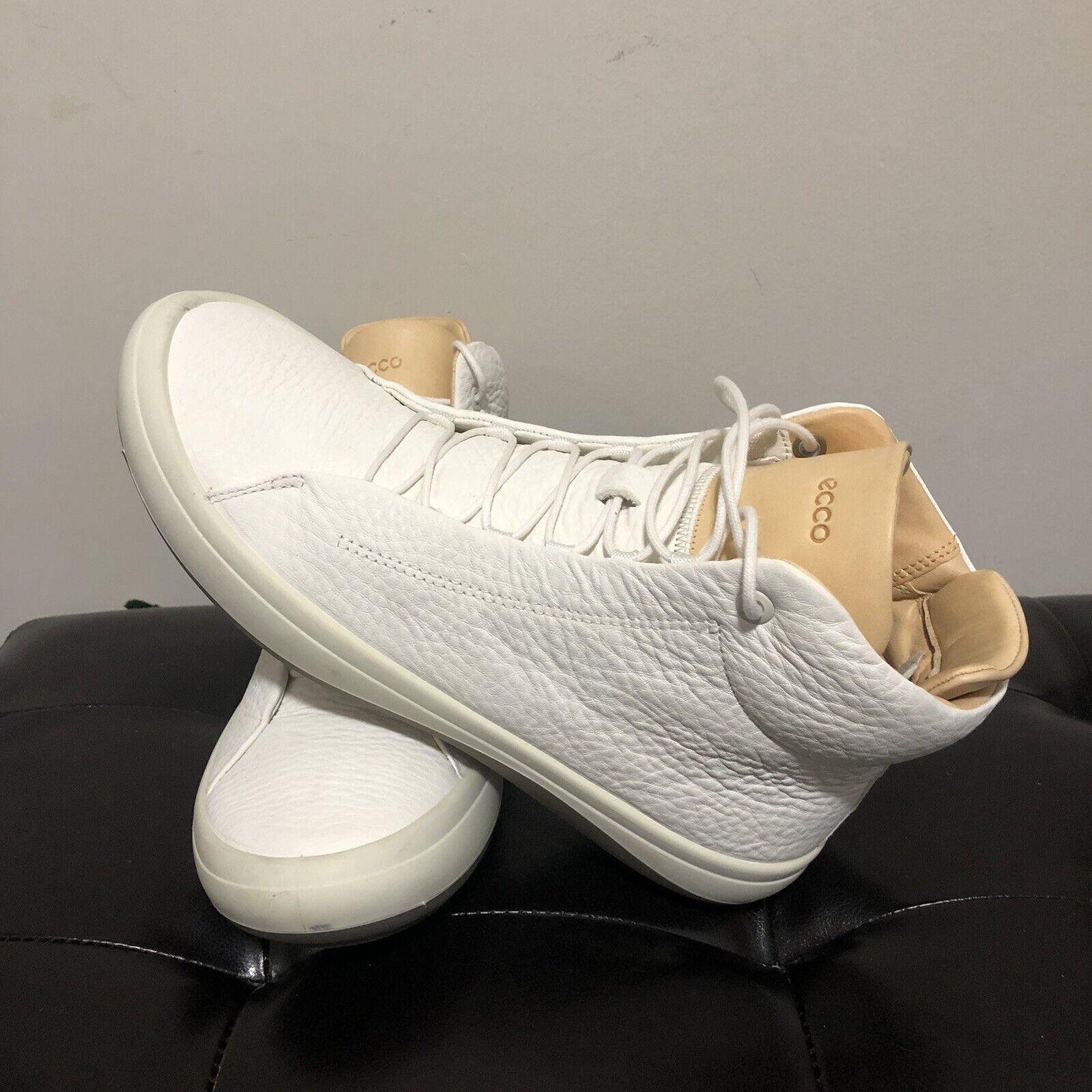 White Veg Tan Fashion Sneakers Shoes