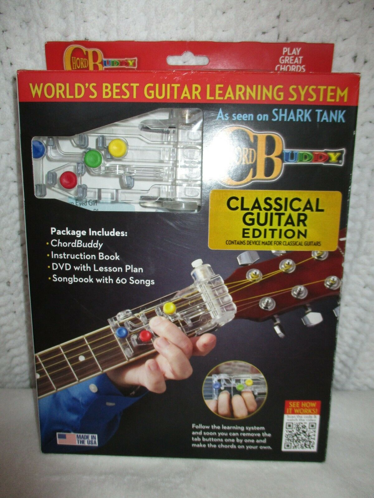 Chordbuddy Learnin System Boxed with Color Coded Songbook by Travis Perry  15, Trade Paperback