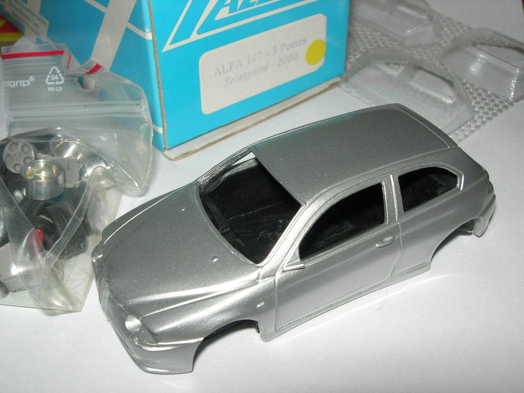 Chestnut 1 43 kit pre-pintura silver alfa romeo 147 selespeed 3-door 2000 new