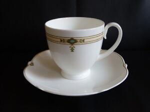 Villeroy-amp-Boch-Montserrat-Kaffeetasse-Tasse-mit-Unterteller