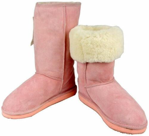 7770e8746c2 Classic Tall Pink Ugg Boots Australia Sheepskin Ladies Mens Unisex ...