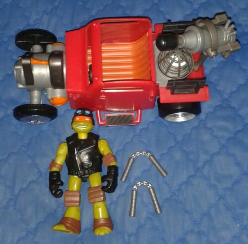 2014 *** Hot Rod /& Mike COMPLETA *** Teenage Mutant Ninja Turtles TMNT
