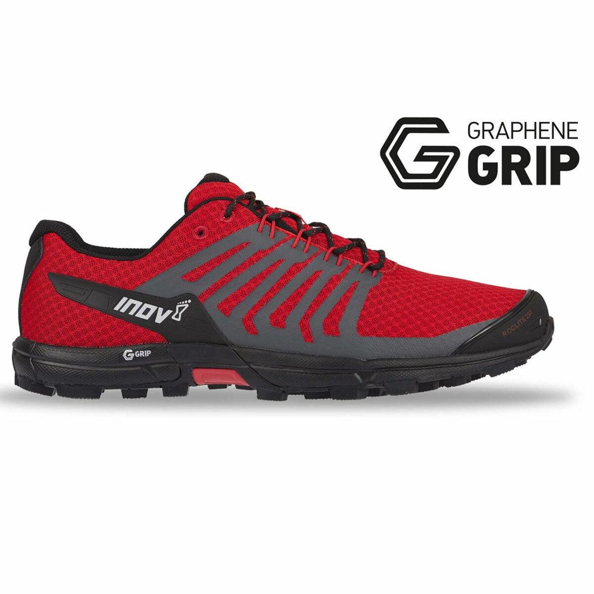 Inov 8 roclite g 290 Men   000809 rdbk   trailrunning zapato   graphene Grip