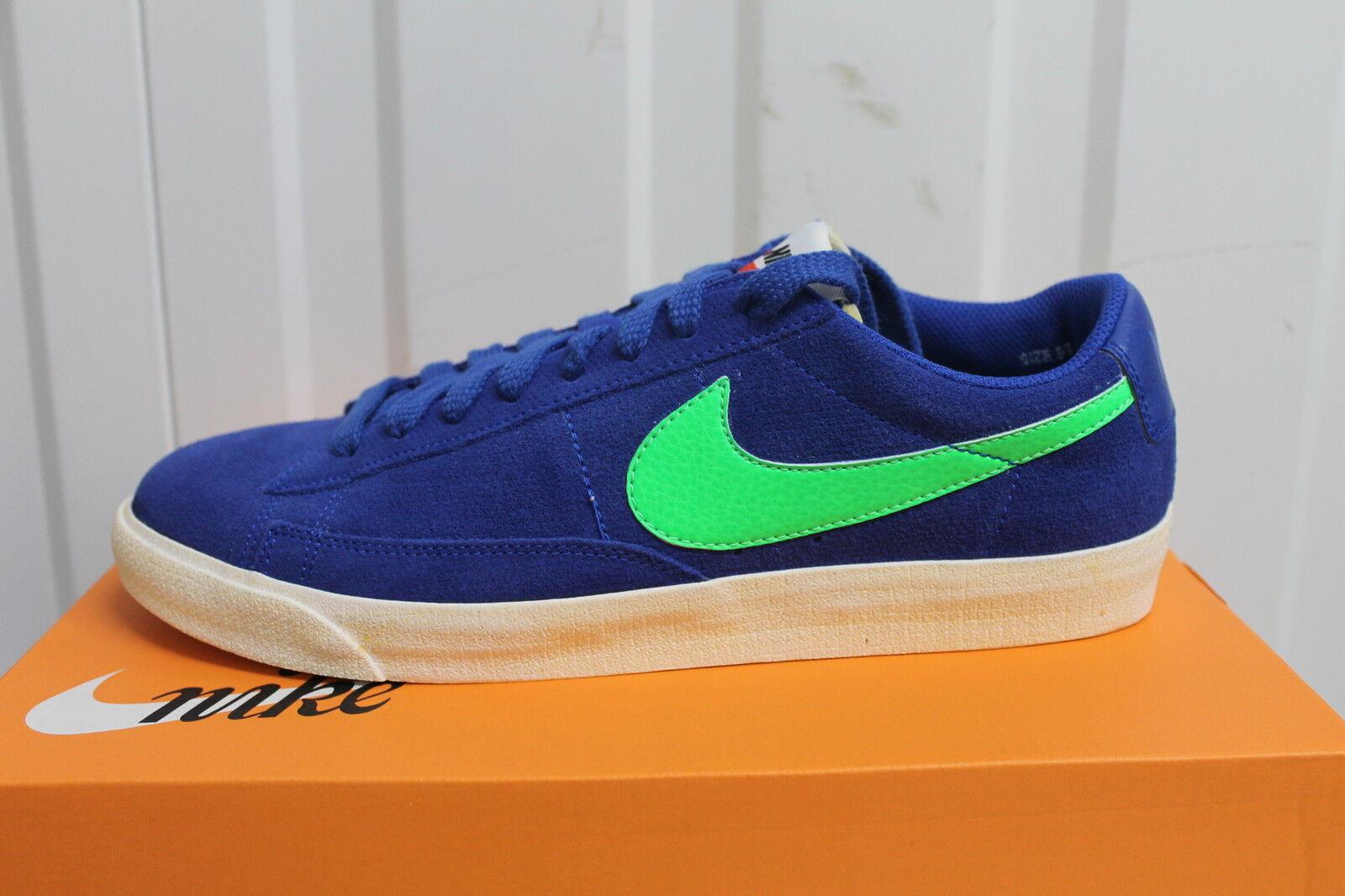uk availability 2d9d8 062c5 Nike Blazer Premium bajos los hombres, S S S 558527-431 reducción de precios  Wild Casual