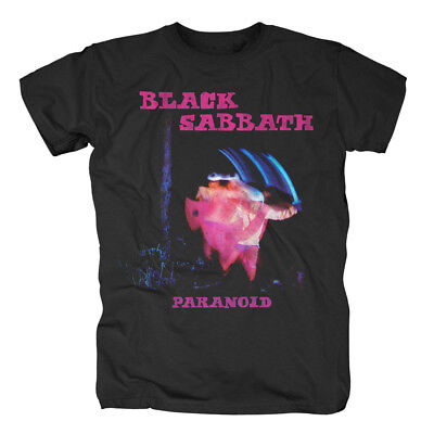 Neue Mode Black Sabbath - Paranoid Tracklist T-shirt