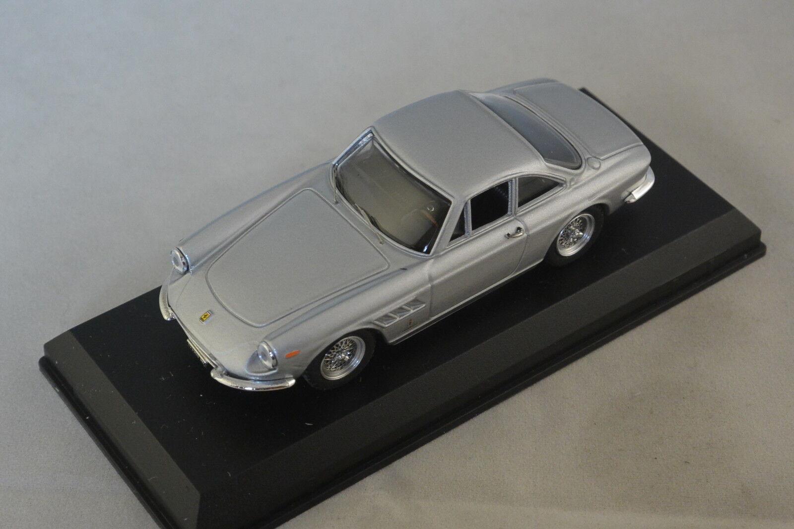 MODEL BEST 9146 - FERRARI 330 GT COMMENTORE ARGENT 1966 1 43