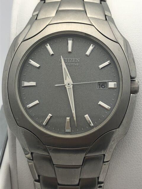 0ea50d69b961c Citizen Men s Eco-Drive Silver Dial Stainless Steel Case and Bracelet Watch  8251