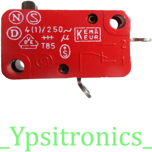LOTx2 YH-2088 MIKROSCHALTER MICROSWITCH 4A 250V AC EMRQUARDT NEU