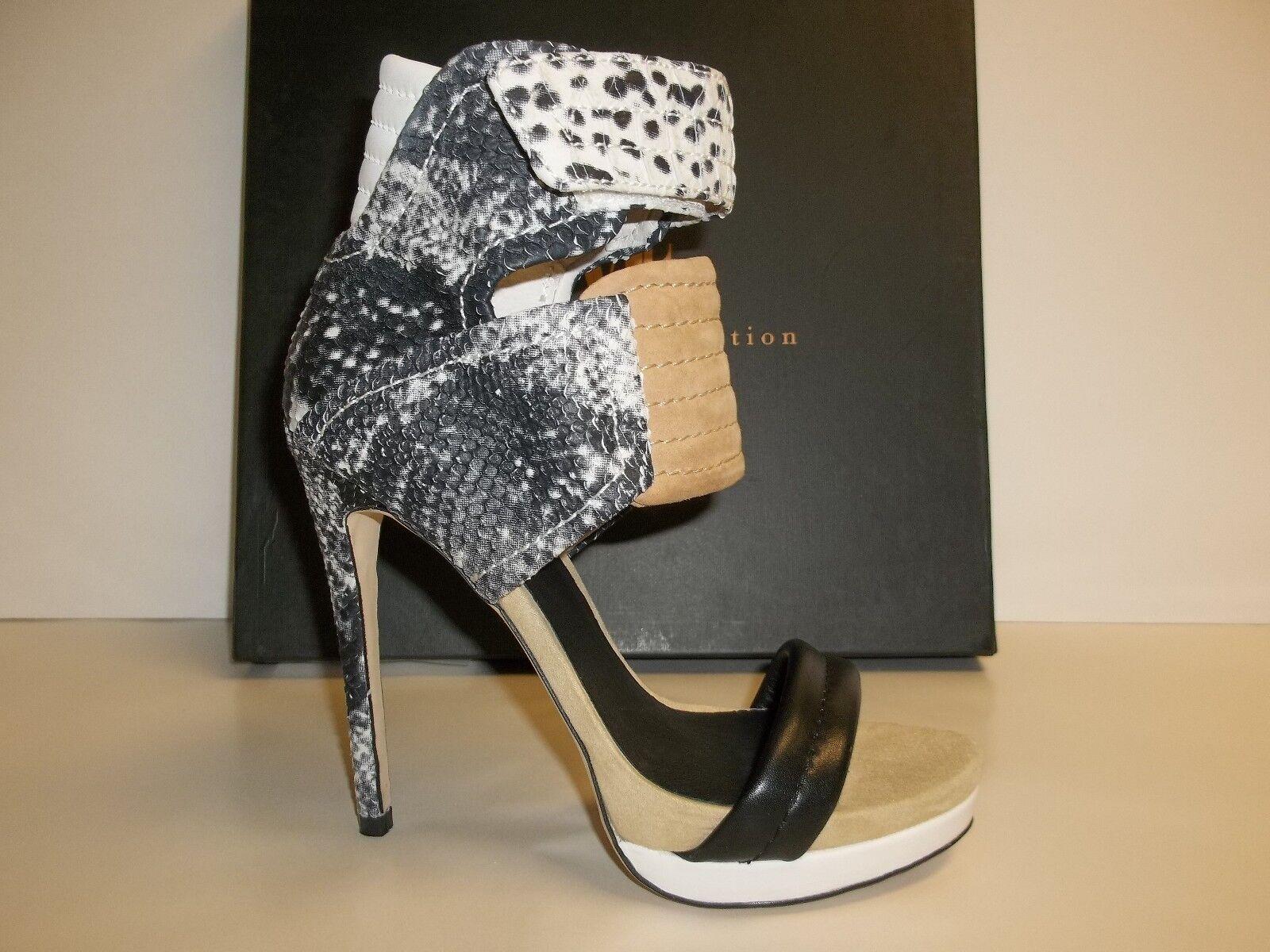 Mia Limited Edition Größe 7.5 M ROCCO Gray Leder Heels Sandales NEU Damenschuhe Schuhes
