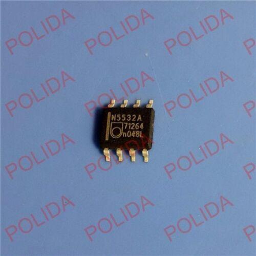 5PCS OP AMP IC PHILIPS//SIGNETICS SOP-8 NE5532AD8 NE5532AD NE5532A N5532A
