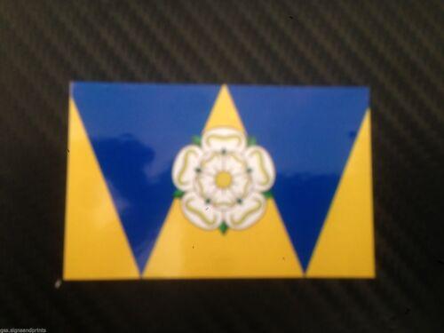 West Yorkshire County Bandera-Pegatina Impresa-Opción De Tamaño