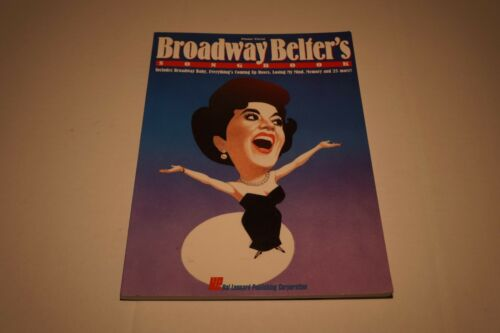 Broadway Belter's Songbook Sheet Music Second Edition Piano Vocal Song