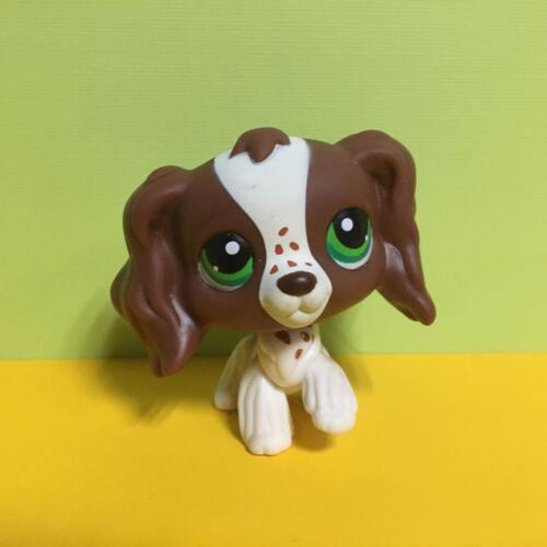 Littlest Pet Shop LPS Animals Toys #156 Brown Spaniel Cocker Dog Figure S