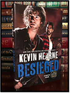 Besieged-SIGNED-by-KEVIN-HEARNE-New-Iron-Druid-Hardback-1st-Edition-amp-Printing