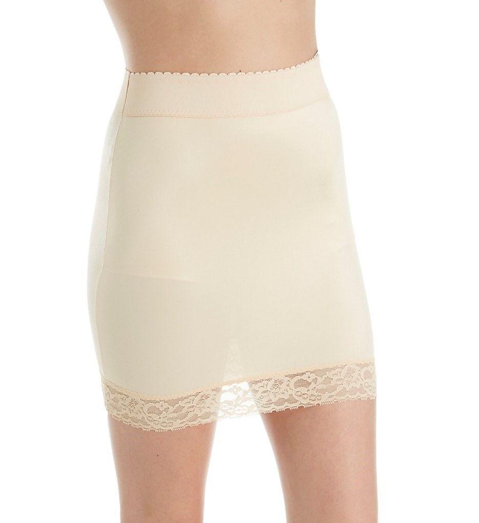 Rago Shapewear Beige Half Slip & Panty Light Control Shaper Plus Size 40 5XL