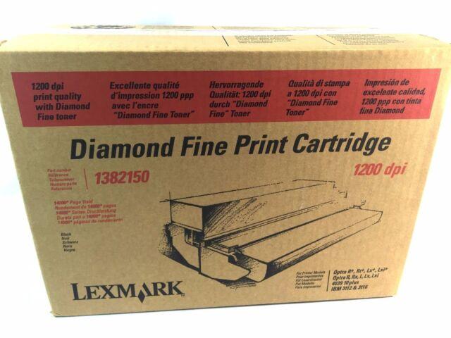 Lexmark 1382150 Toner Cartridge Optra R R+ Rt+ Rx L Lx Lxi 4039 IBM 3112 3116