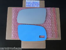 501LF 95-99 Audi A4 A6 A8 S6 Mirror Glass +FULL ADHESIVE Driver Side Left LH NEW