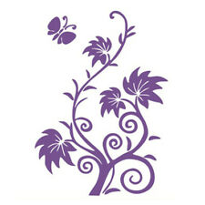 Reusable 3 Flowers Wall Painting Stencil Hollow Out Home Murals Decoration
