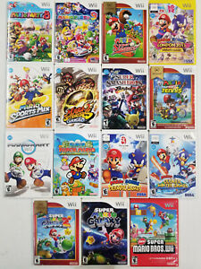 Super Mario Games and More Wii - TESTED
