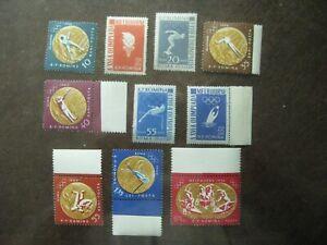 Romania-mi-No-2010A-2019A-Olympia-Medaillen-Complete-Mint