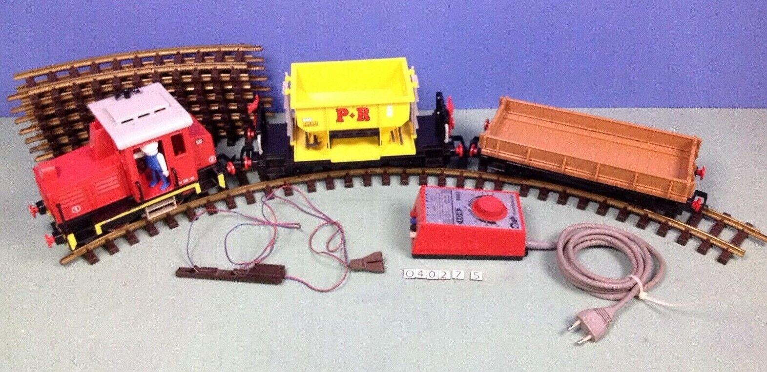 (O4027.5) playmobil train wagon 4027 RC ou LGB rail laiton