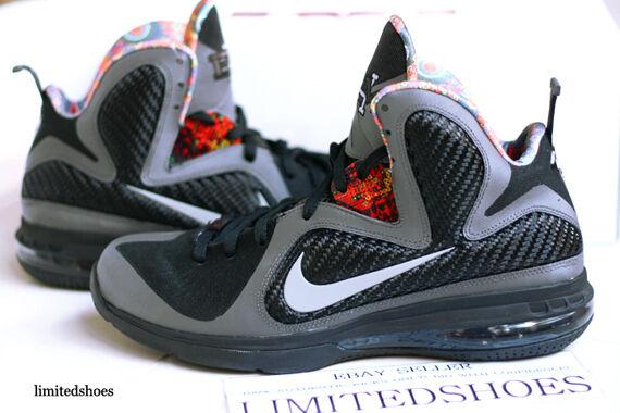 Nike LeBron LeBron LeBron 9 IX Elite BHM Size 13. 530962-001 what the champ pack south beach 3f4bc3