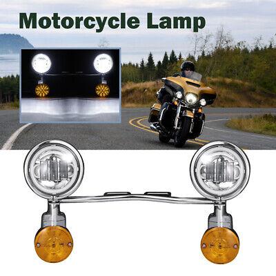 Passing Turn Signals Light Bar For Honda VTX 1300 1800 C R S RETRO VT750 VT1100
