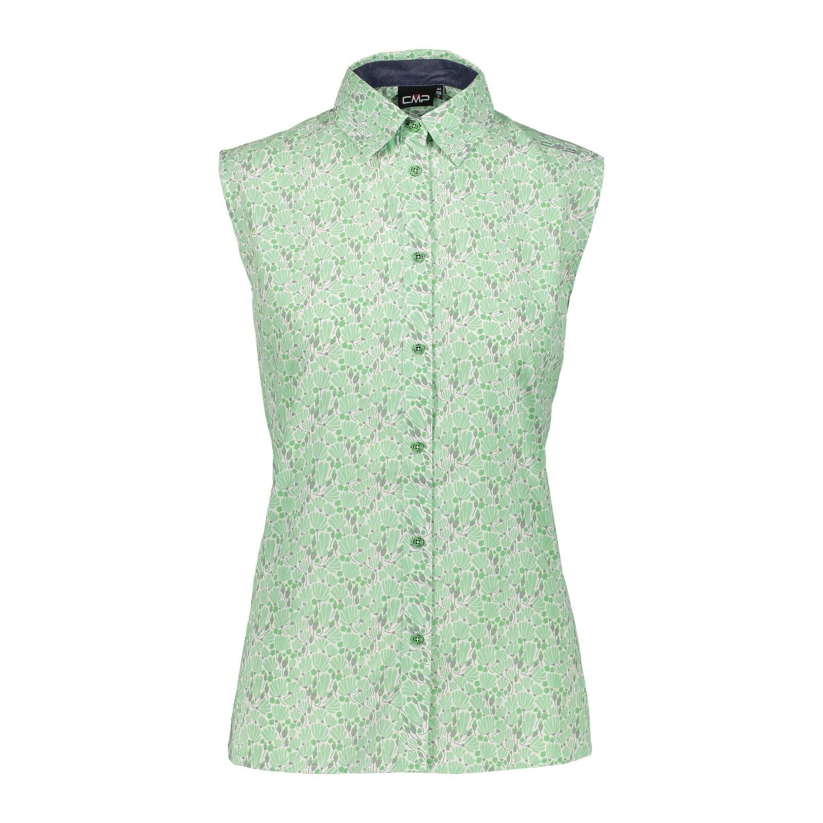 CMP Blouse Woman  Shirt Green Breathable Elastic Fast Drying  sale online