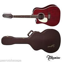 Takamine Jj325src-12 12-string John Jorgenson Left Handed Jj-325 Src 12