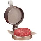 Burger Hamburger Press Patty Ground Meat Cake Adjustable Weight Thickness Metal