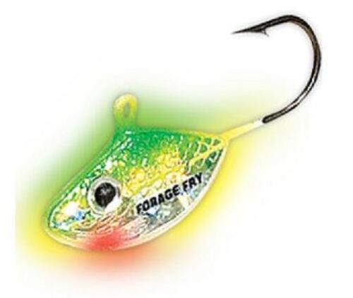 Northland Tackle Forage Minnow Fry FMF6-20 Super Glow Perch 2 Pack #6 Hook