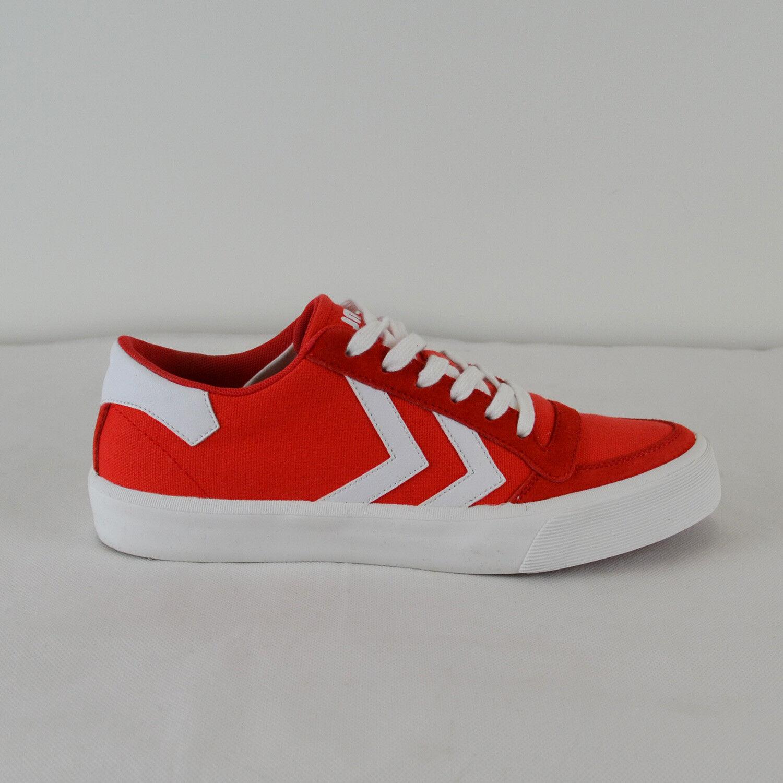 HUMMEL Damen Sneaker Stadil Rmx Low in Rot Gr. 36-41 NEU
