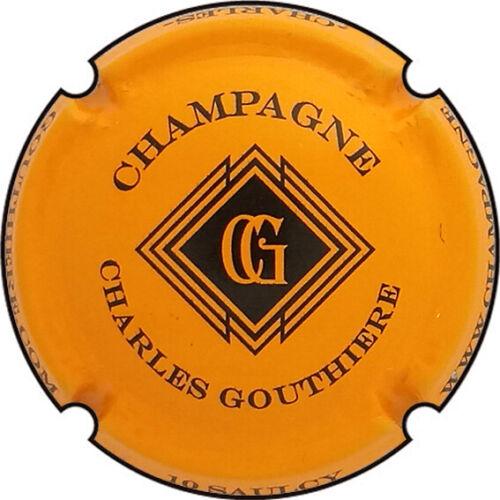 n°05h Z03 GOUTHIERE Charles Orange et noir