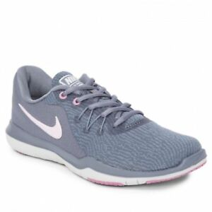 910beade80bdf Nike  Flex Supreme TR 6  909014 in Cool Grey Barely Rose-Stealth ...