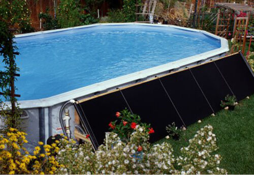 Yard Garden Outdoor Living Pools Spas 2 2 X20 Add On Above Ground Swimming Pool Solar Heater Panel Fafco