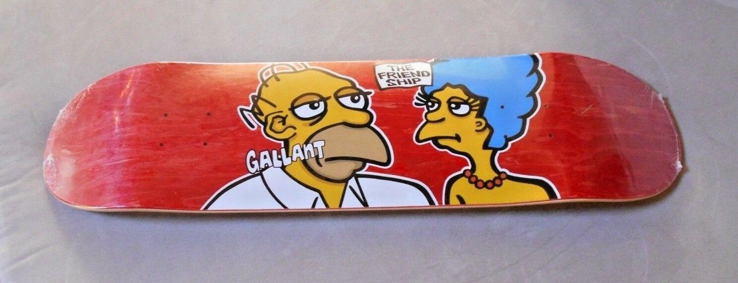 Silk Screened TFS Ryan Gallant Supreme Mark Gonzales homage  The Simpsons  rare